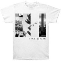 Counterparts Men's  The Difference Between Hell And Home T-shirt White