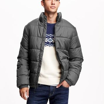 Old Navy Mens Frost Free Quilted Jackets
