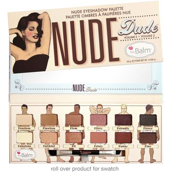 theBalm Cosmetics Nude Dude Volume 2 Eyeshadow Palette