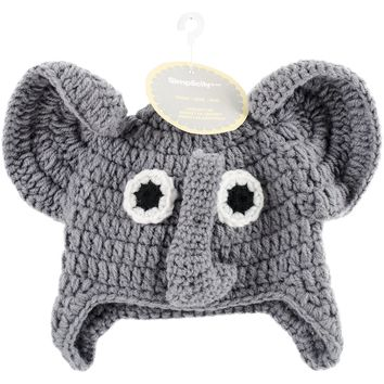Elephant Crocheted Hats For Babies