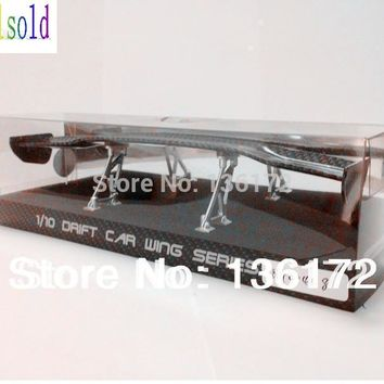 Ewellsold 1/10 RC car accessories  1/10 RC drift car wing set/ Spoiler  free shipping