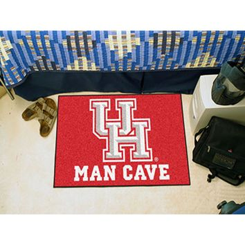 "Houston Cougars NCAA Man Cave Starter"" Floor Mat (20in x 30in)"""