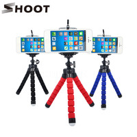 Mini Portable Flexible Sponge Octopus Tripod Stand Mount With Holder For Phone Gopro Camera Tripode for Nikon d3300 d3200 DSLR