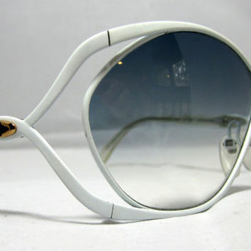 Wild Vintage Sunglasses Glamorous Designer by CollectableSpectacle