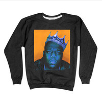 Notorious BIG Sweatshirt | Biggie Sweatshirt | Hip Hop Sweaters
