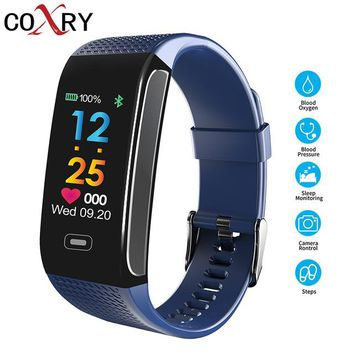 COXRY Smart Watch For Kids Children Watches For Boys Pedometer Heart Rate Monitor Sports Girls Watch Waterproof Digital Clock