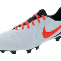 Nike CTR360 Trequartista III FG Cleats White/Crimson Mens Soccer Shoes