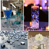 10000 PCS 4.5mm crafts Scatter Crystals Diamonds Table Confetti Clear Centerpiece Wedding baby shower birthday Decor