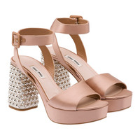 Miu Miu e-store · Shoes · Sandals · Sandals 5XP673_QU6_F0A48_F_095