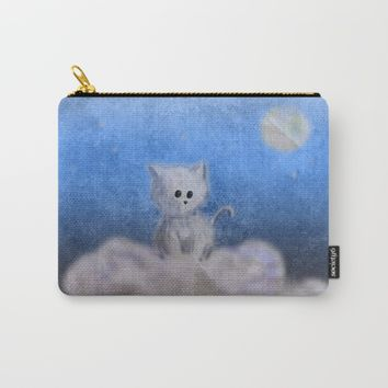 kitten in the sky Carry-All Pouch by VanessaGF