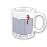 Don't get caught in a fib coffee mug from Zazzle.com