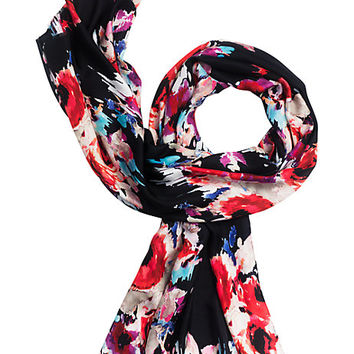 Kate Spade Hazy Floral Oblong Scarf Hazy Floral ONE