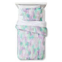 Watercolor Wonder Comforter Set Twin Purple 2pc - Pillowfort™ : Target