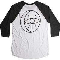 Moonlight Raglan - Heather Black | Poler Stuff