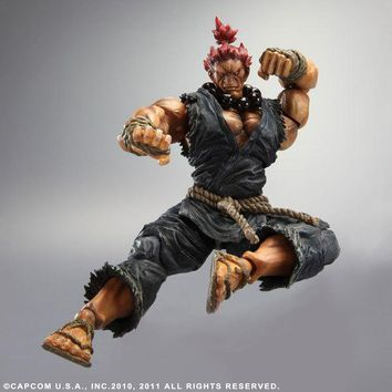 PLAY ARTS KAI Street Fighter IV 4 Gouki Akuma PVC Action Figure Collectible Model Toy 24 cm KT3503