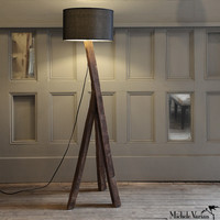 Michele Varian Shop - Reclaimed Wood Plank Lamp