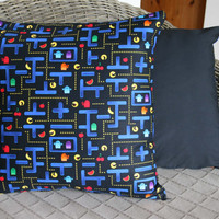 Pacman Cushion Cover, Pacman Maze