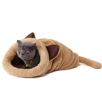 Cute Plush Kitty Cat Sleeping Bag