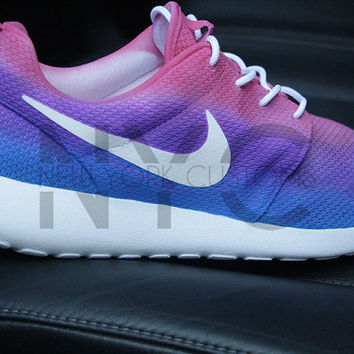 04e40d37266a Nike Roshe Run Grey New York Mets from NYCustoms on Etsy