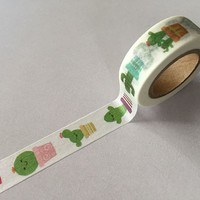 jiataihe Washi Tape Decorative Scotch Tape Scrapbook Paper Masking Adhesive Tape  washi tape cactus free shipping