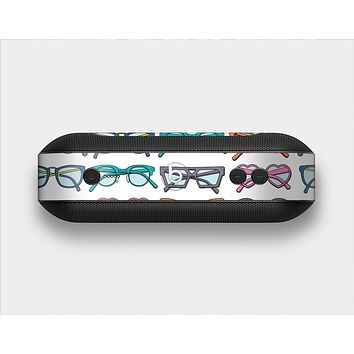 The Various Colorful Vector Glasses Skin Set for the Beats Pill Plus
