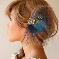 Belle Made to order one of a kind headpiece by portobello on Etsy