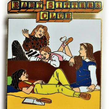 The Baby-Sitters Club Enamel Pin