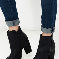 Sbicca Percussion Black High Heel Booties