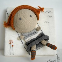 Lola swingsknitting canvas by okapiknits on Etsy