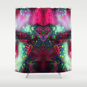 hearted alien Shower Curtain by Haroulita | Society6