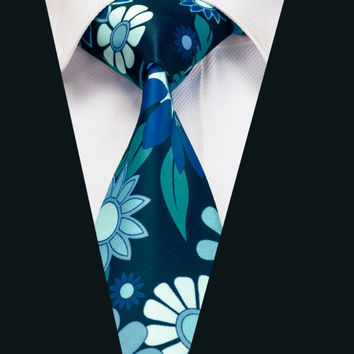 New Arrival Colorful Floral Ties Cotton Ties For Men Party Vintage Printed Ties Gravatas