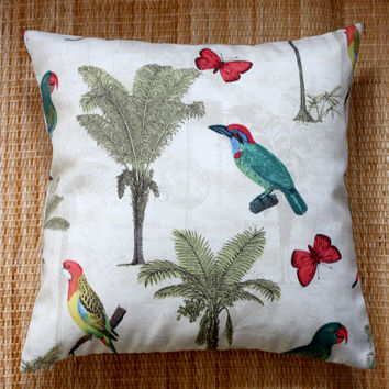 palm garden ivory outdoor cushions