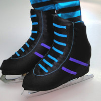 Roller Skate inspired Skate Boot Covers / Figure Skating / Ice Skating