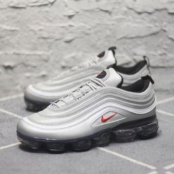 PEAP2Q Nike Air Max 97 VaporMax Q100-3200 Silver Sport Running Shoes