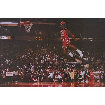 Michael Jordan Massive Air Poster 24x36