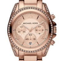 Women's Michael Kors 'Blair' Chronograph Watch, 39mm