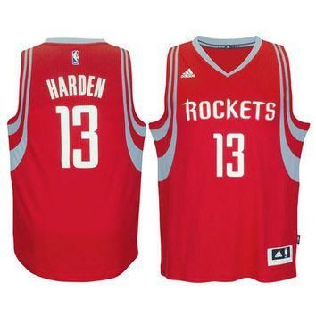Men's Houston Rockets James Harden adidas Red Swingman climacool Jersey