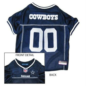 DCCKT9W Dallas Cowboys Dog Jersey