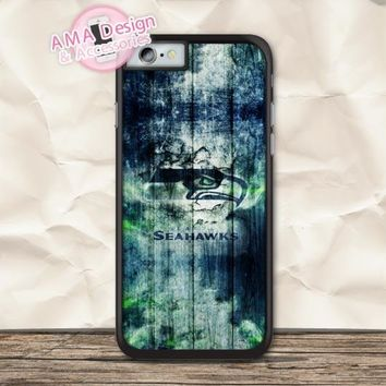Seattle Seahawks Football Sport Case For iPhone X 8 7 6 6s Plus 5 5s SE 5c 4 4s For iPod Touch