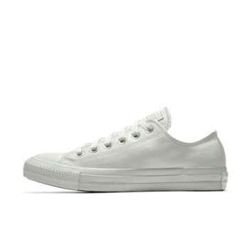 The Converse Custom Chuck Taylor All Star Leather Low Top Shoe.