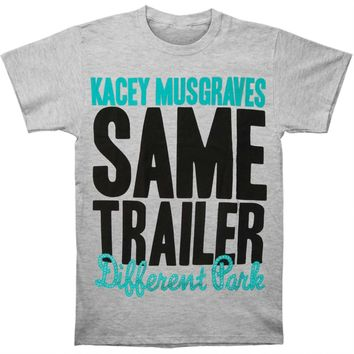Kacey Musgraves Men's  Same Trailer Different Park T-shirt Grey