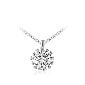 Stylish Gift New Arrival Shiny Simple Design Jewelry Necklace [9281908996]