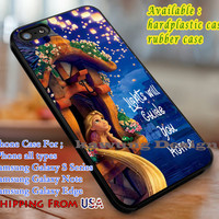 Lights Will Guide You Home Tangled Quote iPhone 6s 6 6s+ 6plus Cases Samsung Galaxy s5 s6 Edge+ NOTE 5 4 3 #cartoon #animated #disney #tangled dl3
