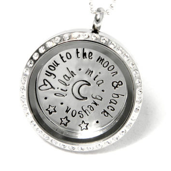 Floating Locket - Living Locket - Personalized Memory Locket