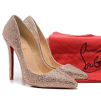 CL Christian Louboutin Fashion Heels Shoes