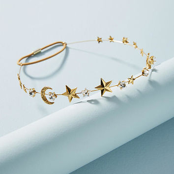 Star and Moon Headband