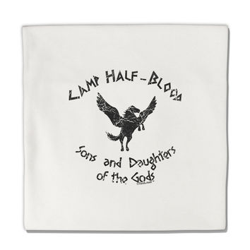 "Camp Half-Blood Sons and Daughters Micro Fleece 14""x14"" Pillow Sham"
