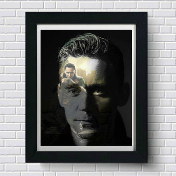 Tom Hiddleston Loki Wall Art  | Lisa Jaye Art Designs
