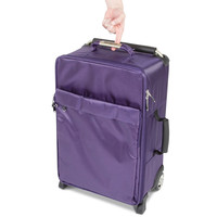 The World's Lightest Carry On (Purple) - Hammacher Schlemmer