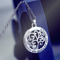 Heart Of The Family Necklace
